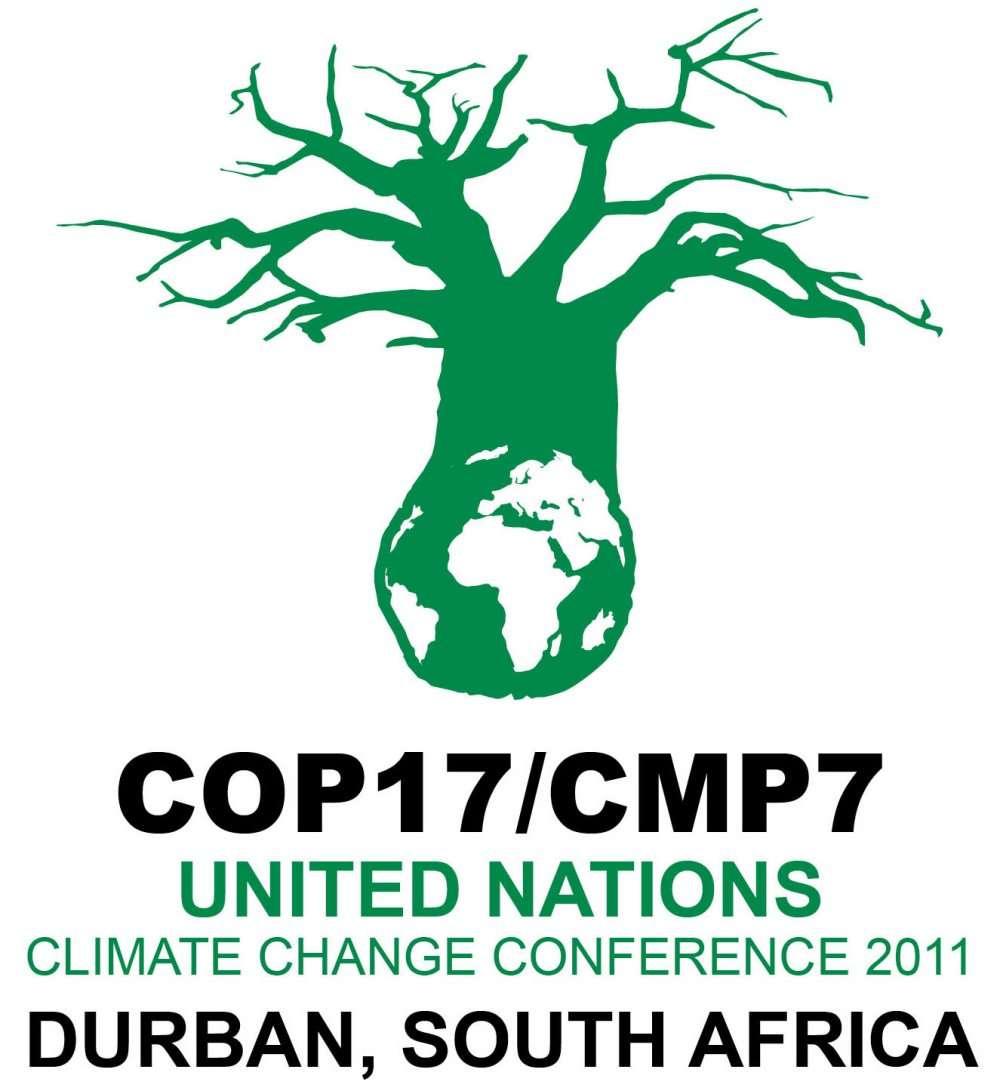 La conférence COP 17/CMP 7, dont l'emblème est un baobab, accouchera-t-elle d'un accord international ? © COP 17