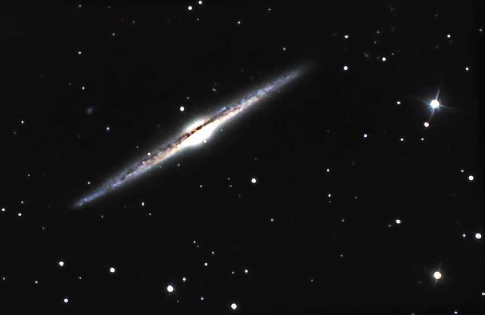 NGC 4565. © Jean-Christophe Baudevin, Jordan Blanchard, David Chiron, Bernard Lesourd, Joseph Mordelet, Richard Morisan, Philippe Renauld