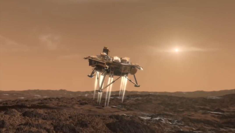 Insight lancée à la conquête des profondeurs de Mars