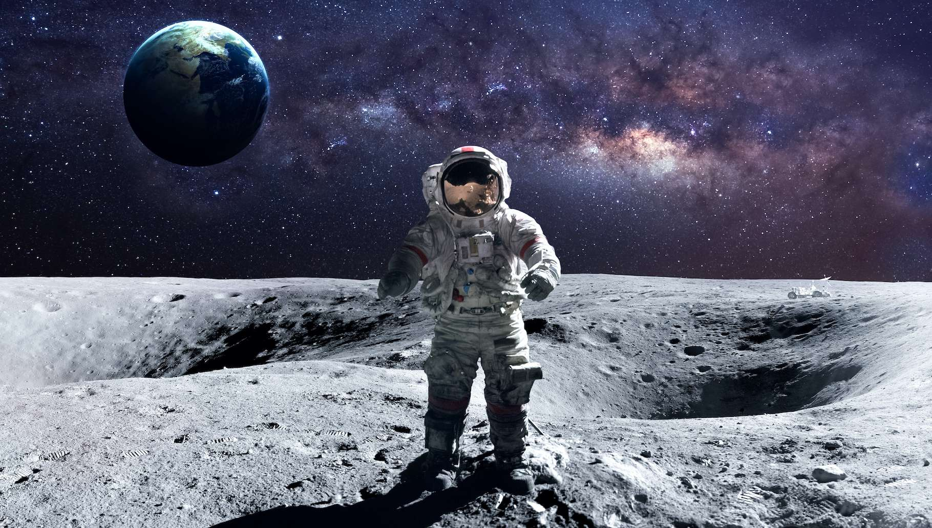 La Nasa prépare activement son retour sur la Lune. © Vadimsadovski, Adobe Stock