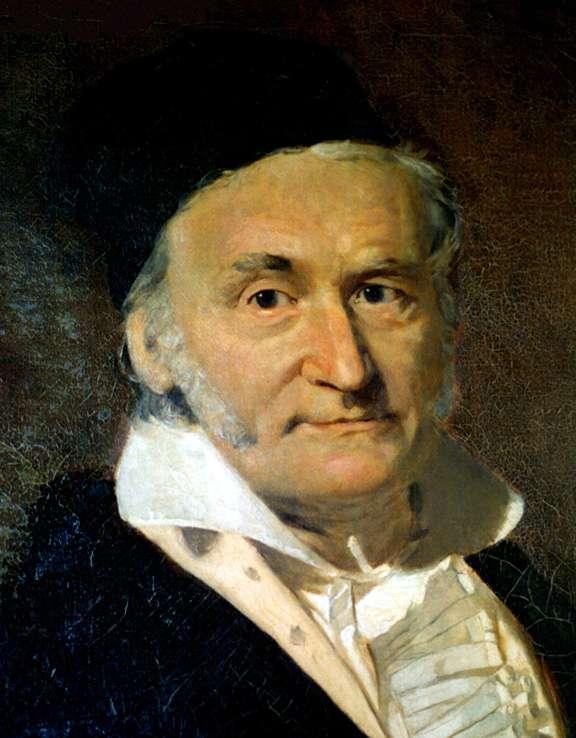 Le mathématicien Carl Friedrich Gauss, inventeur du système CGS. © Wikipédia