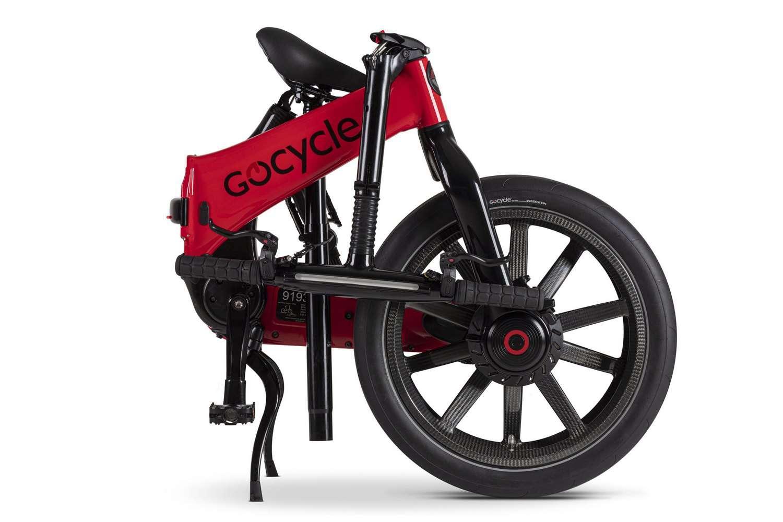 Le Gocycle G4 se plie en seulement dix secondes. © Gocyle