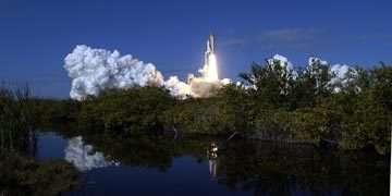 Lancement de la navette Columbia (STS-107), son ultime décollage.