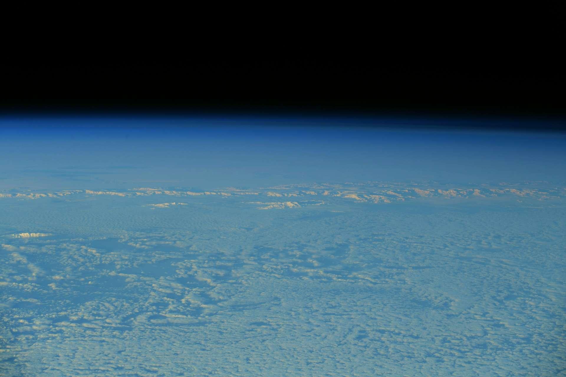 L'Antarctique, le cinquième continent, photographié par l'astronaute français, en juillet 2021. © ESA/Nasa, Thomas Pesquet