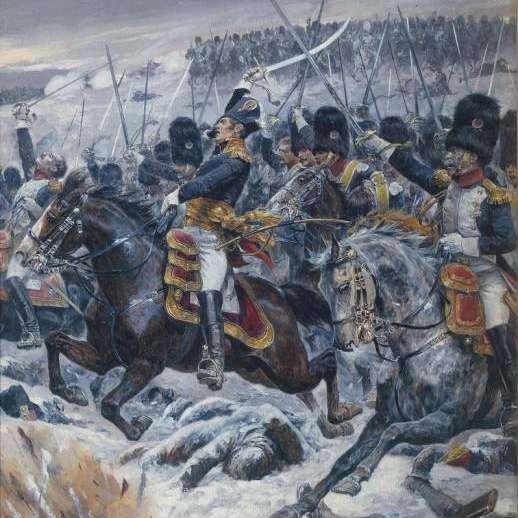 Le général Ney, ici à la tête de ses troupes à Eylau, était l'un des plus célèbres généraux de Napoléon. © Richard Caton Woodville, Wikimedia Commons, DP