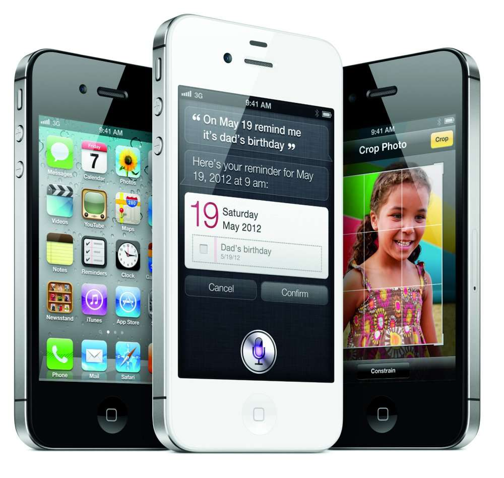 L'iPhone 4S sera blanc ou noir. © Apple