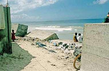Le Sénégal bientôt englouti par la mer à cause de l'érosion ?