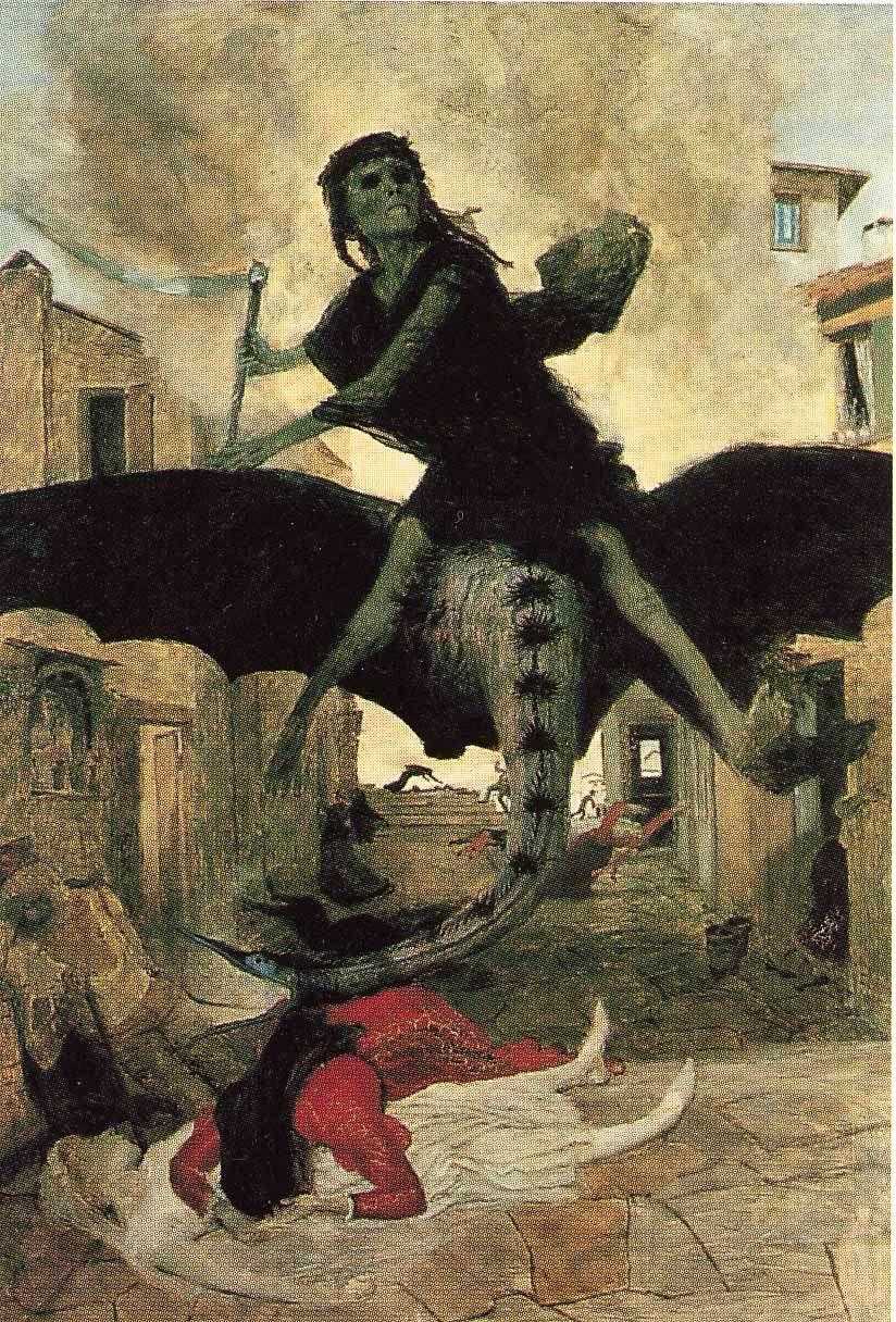 Une représentation de la peste. © DR