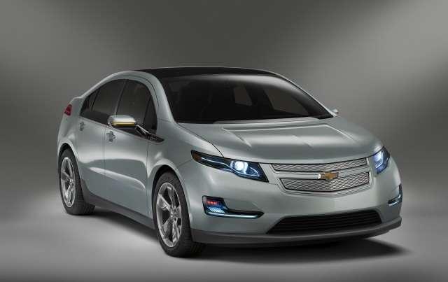 La Chevrolet Volt sortira en 2011. Crédit : DR