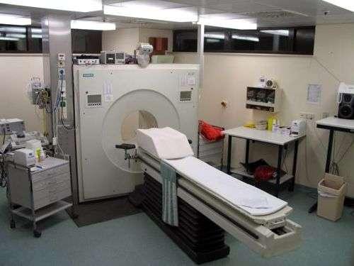 PET (Tomographie à Emission de Positrons). Image du domaine public.