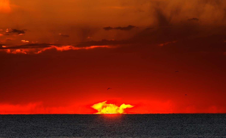 Stupéfiant lever de soleil argentin. © L. Argerich