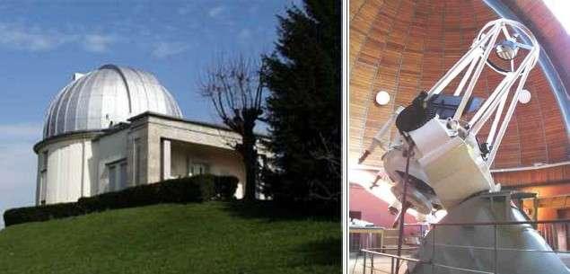 L'Observatoire Breta à Merate abrite sous sa coupole un télescope de 1,34 mètre qui retransmettra le transit d'une exoplanète. Crédits : INAF