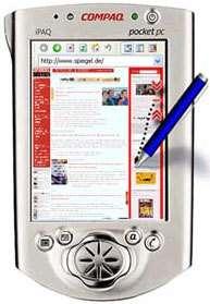 Pocket PC et technologie Collapse-to-zoomCrédits : Patrick Baudisch