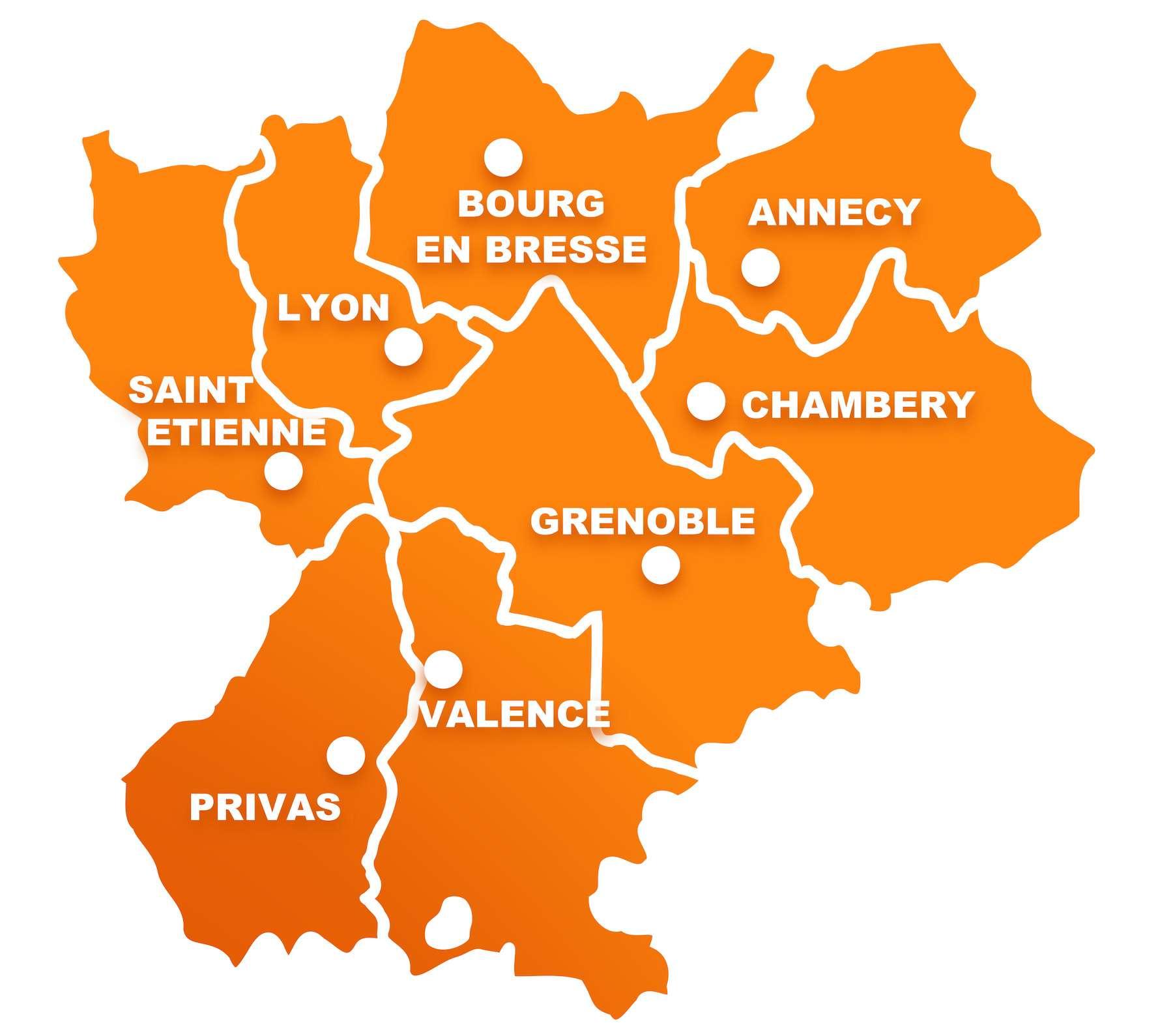 La région Rhône-Alpes, et tout particulièrement la Savoie, est particulièrement touchée par la deuxième vague de l'épidémie de coronavirus. © Ainoa, Adobe Stock
