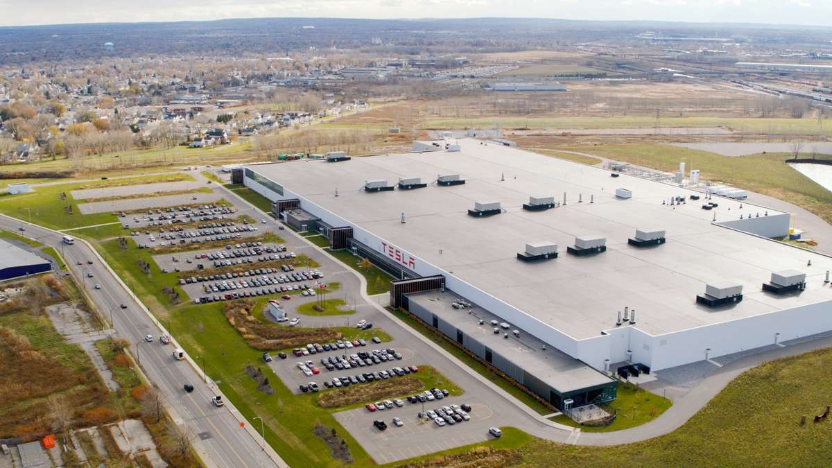 La Gigafactory 4 sera la première usine Tesla sur le sol européen. © Tesla