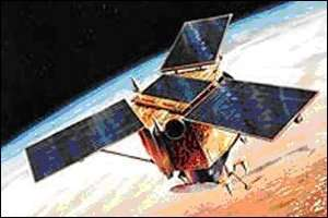Vue d'artiste du satellite Ikonos