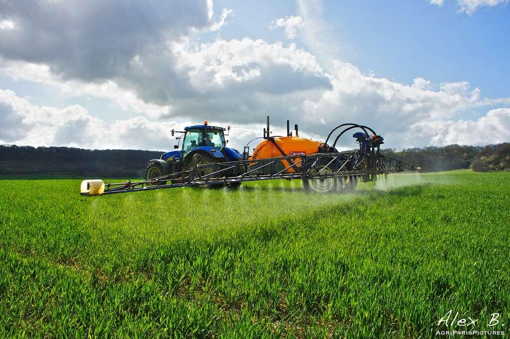 En 2009, environ 25.000 t d'herbicides ont été utilisées en France, dont 90 % dans l'agriculture. © AgroParisPictures, Flickr, cc by sa 2.0