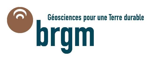 Logo et slogan du BRGM. © Bureau de recherches géologiques et minières