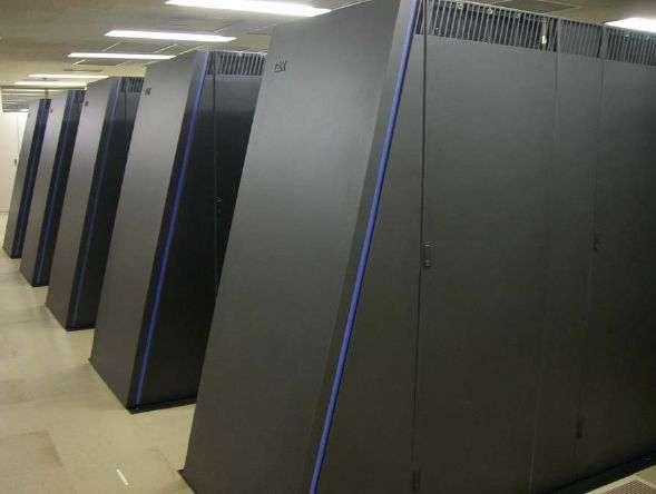 Le BlueGene 2 d'IBM. Crédit IBM