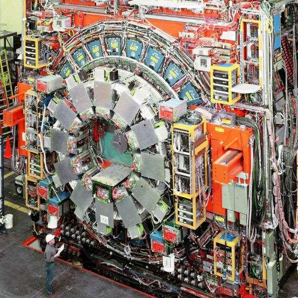 Le détecteur CDF. Crédit : Fermilab