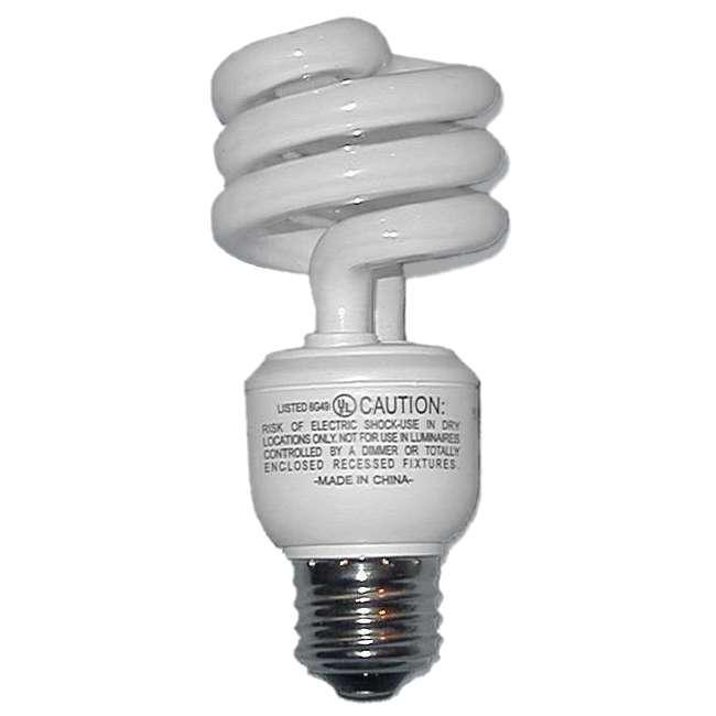 L'ampoule fluorescente est une ampoule qui fonctionne comme un néon. © Balder777, domaine public, Wikimedia Commons