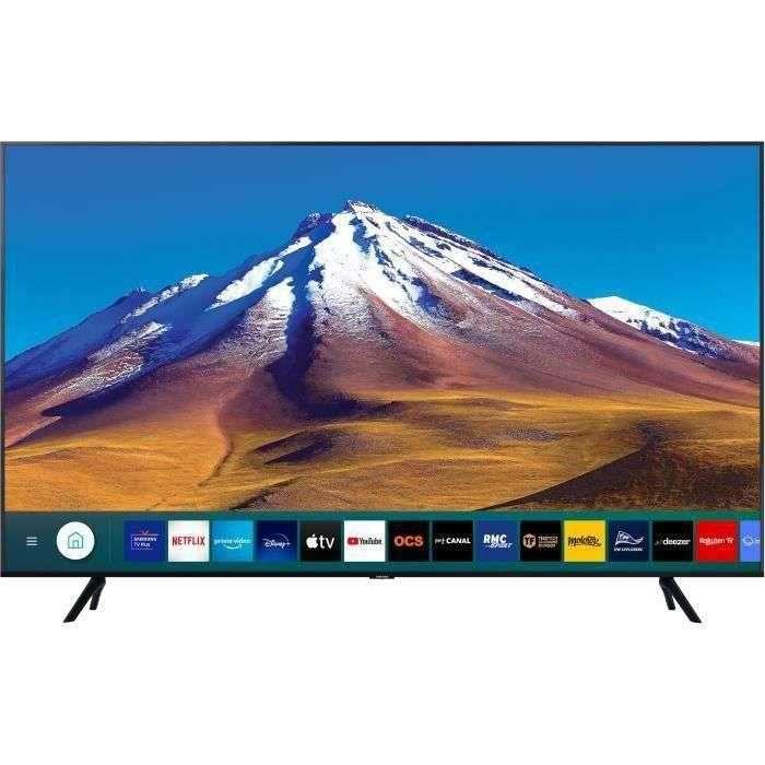 Soldes d'été : la télévision Samsung 55TU7022 © Cdiscount