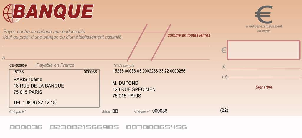 Comment se prémunir contre un chèque sans provision ? © Fotolia