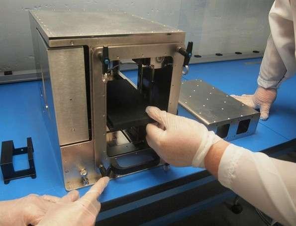 L'imprimante 3D fabriquée par Made in Space sera envoyée vers la Station spatiale internationale à l'automne prochain. Elle servira à fabriquer des pièces et des outils en polymère. © Made in Space
