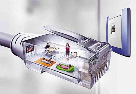 La domotique, pour une meilleure gestion de l'énergie et un confort dans la maison. © Hager