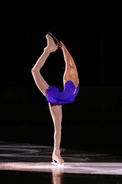 Le patinage artistique développe l'équilibre et la souplesse. © CG94 photos, Flickr CC by nc nd 2.0