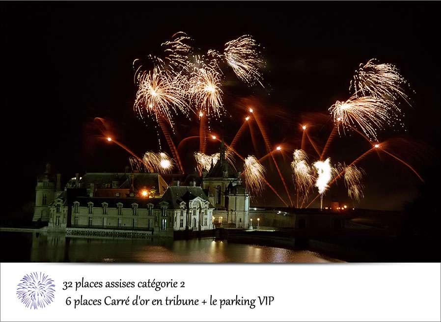 Les Feux de Chantilly, une bataille pour l'émerveillement. © Christophe Blanc, http://christopheblanc.free.fr/