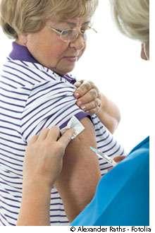 Le nouveau vaccin contre la grippe (2010-2011) est désormais disponible en pharmacie. © Alexander Raths / Fotolia