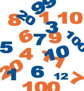 Les chiffres et nombres supérieurs à 3 sont difficilement représentés mentalement en absence de langage pour les désigner. © blog.immobilieretparticuliers.com