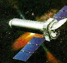 Le téléscope spatial XMM Newton Crédit : http://www.mpe.mpg.de