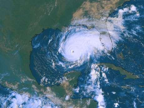 Le cyclone Rita.