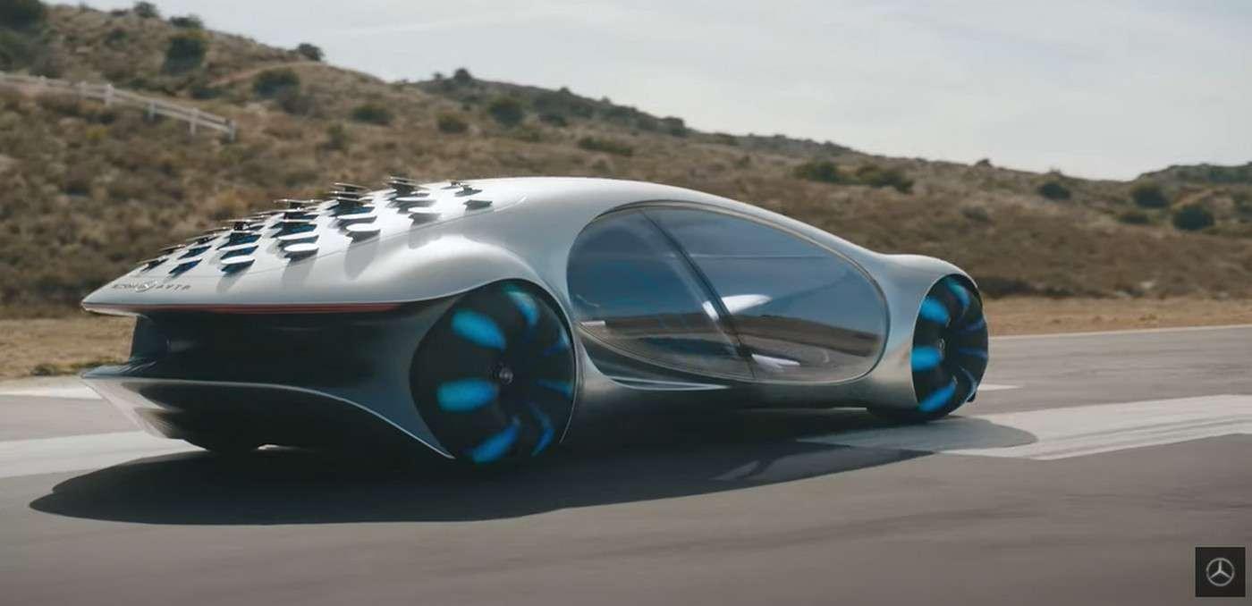 Mercedes-Benz dit avoir collaboré avec les équipes du réalisateur James Cameron pour créer la Mercedes-Benz VISION AVTR. © Mercedes-Benz