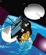 Le satellite Artemis.crédit : ESA