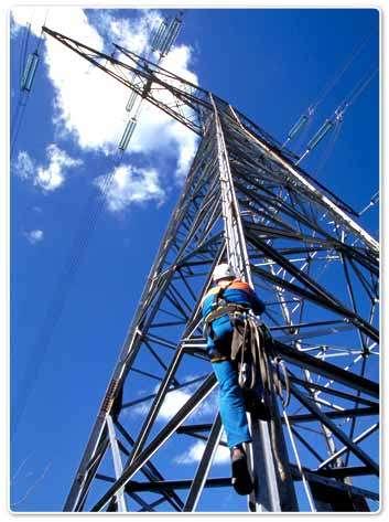 RTE gère le réseau de transport électrique français, soit 100.000 km de lignes haute et très haute tension. © DR