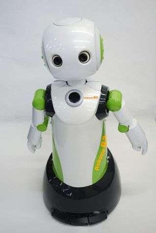 Le secteur de la robotique est en pleine émergence. Ce petit robot nommé Robovie-R aide les personnes âgées. © Vstone