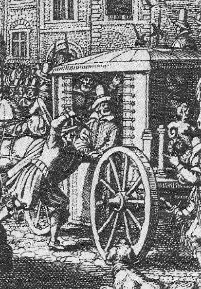 Gravure représentant l'assassinat d'Henri IV. Bien que l'assassin ait déclaré avoir agi seul, la théorie d'un complot est plausible. © Wikimedia Commons, DP