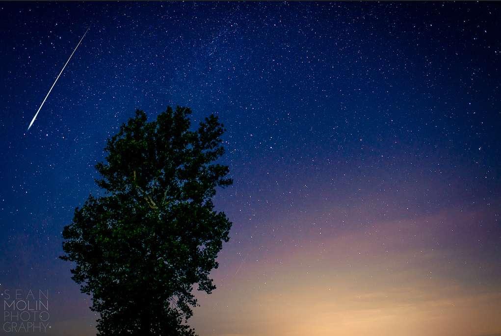Les étoiles filantes peuvent provenir de débris d'astéroïdes ou bien de poussières de comètes comme c'est le cas pour celles de ce cliché pris lors de l'édition 2012 des Perséides, à Terhune (États-Unis). © Sean Molin, Flickr, cc by-nc-nd 2.0