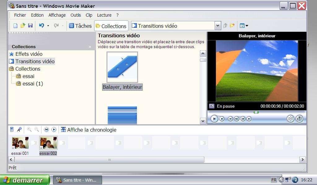 Faire une transition vidéo - Crédits Futura-Sciences