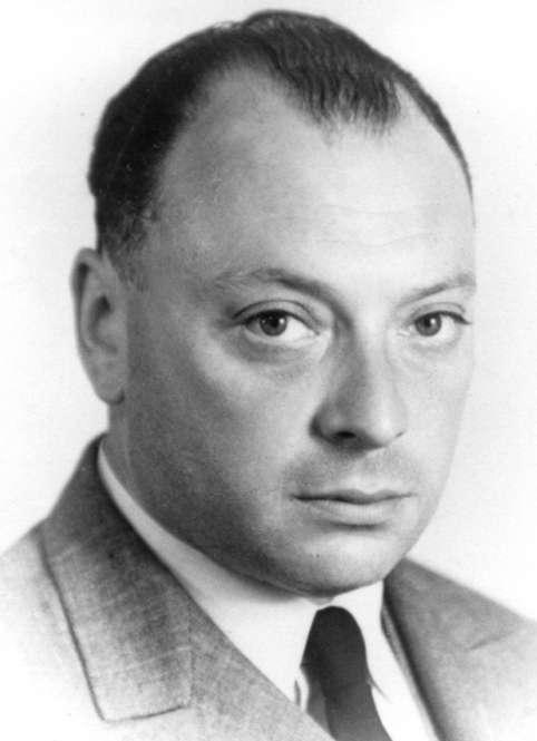 Wolfgang Pauli, un des grands maîtres de la relativité et de la mécanique quantique, et le découvreur du neutrino. © Cern