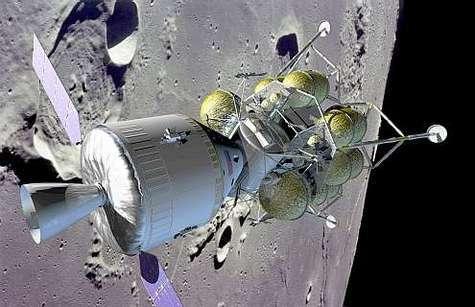 Le nouveau véhicule d'exploration lunaire promu par la Nasa pour 2018.