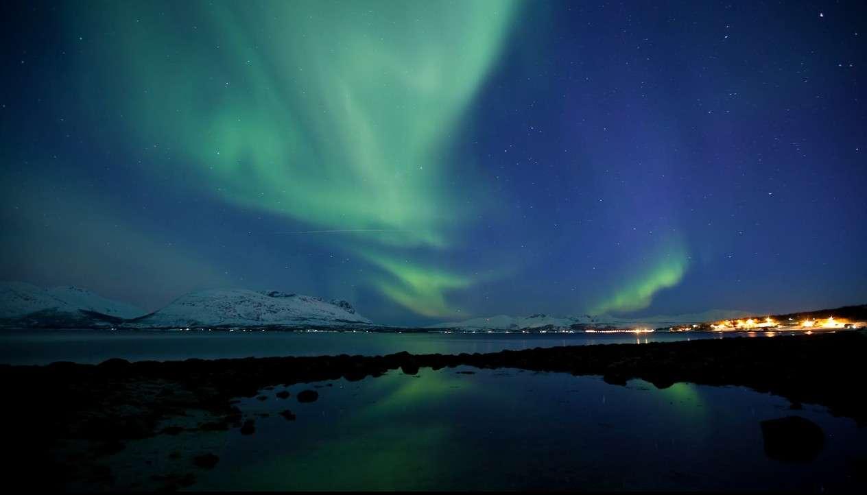Une aurore boréale. © Even Mathisen