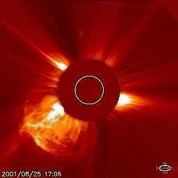 Eruption solaire !