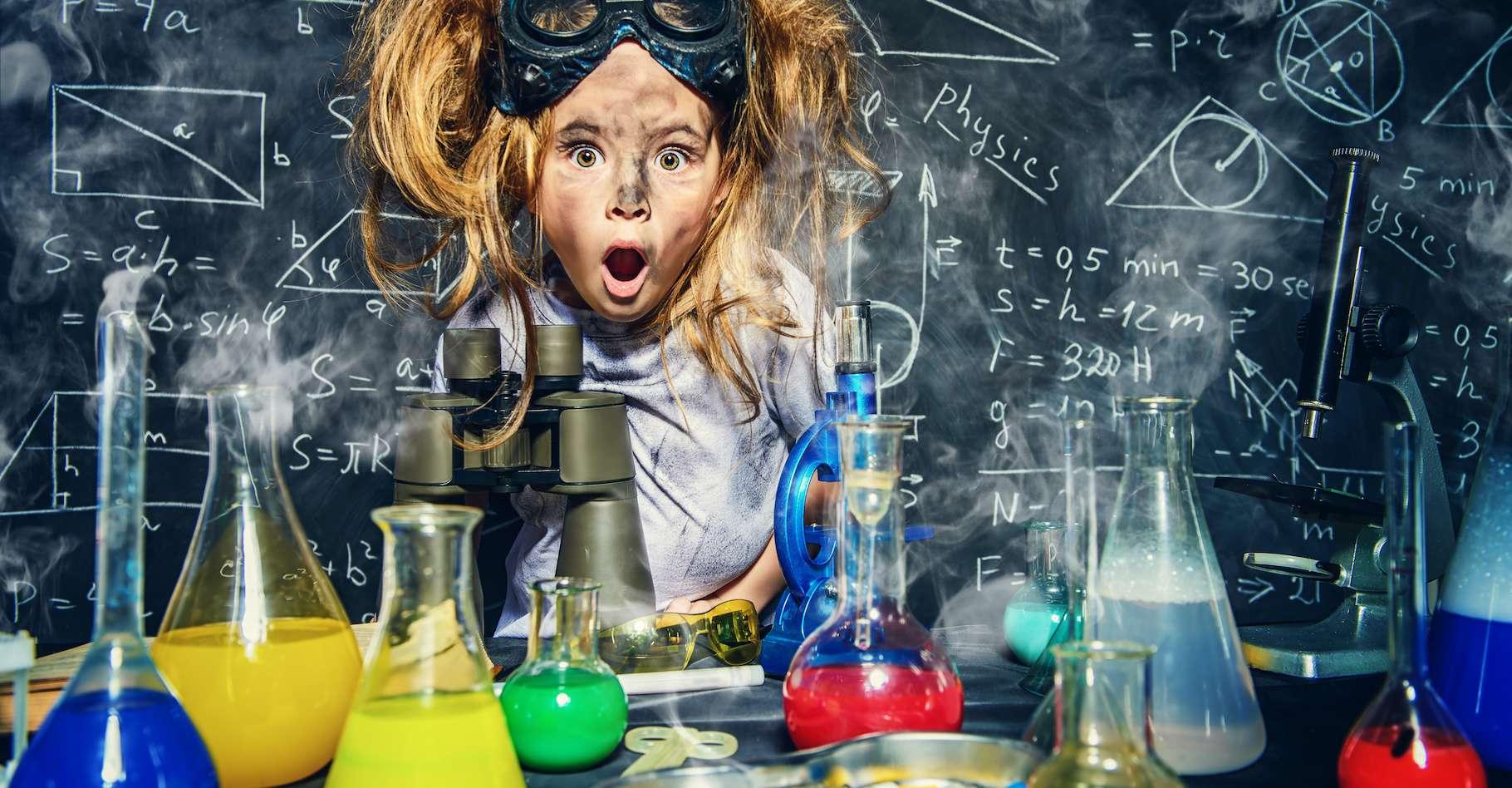 Lors de la prochaine Fête de la science qui aura lieu du 2 au 12 octobre 2020, de petits groupes de privilégiés pourront vivre des expériences inédites et insolites avec le CNRS. © Andrey Kiselev, Adobe Stock