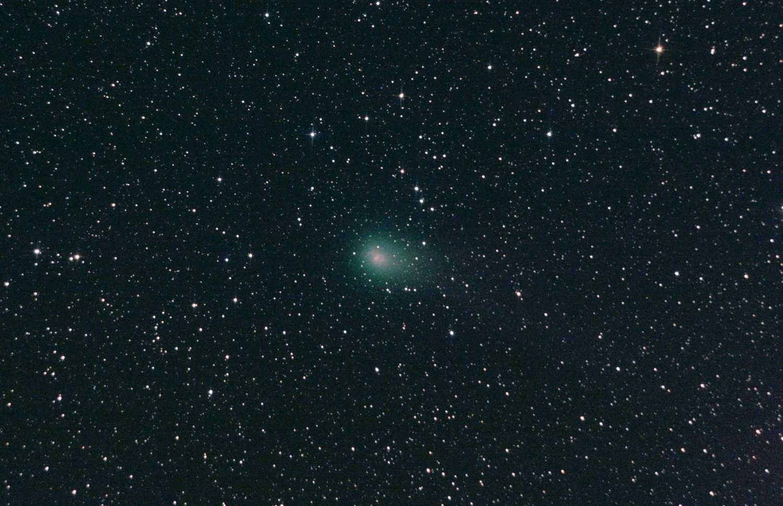 La comète Garrad le 22 septembre 2011. Dix-sept minutes de poses avec un télescope de 15 centimètres et un appareil photo numérique. © C. Yahia