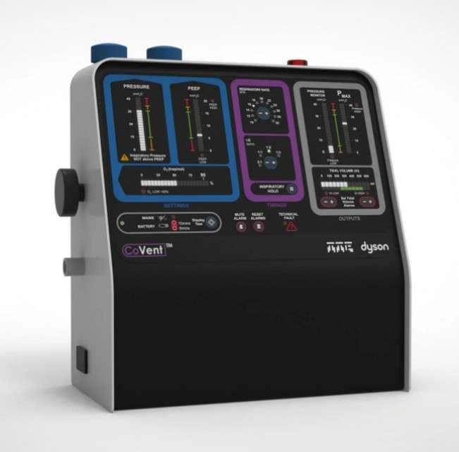Le respirateur artificiel CoVent mis au point par Dyson. © Dyson