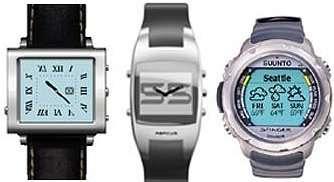 Les montres intelligentes de Microsoft.
